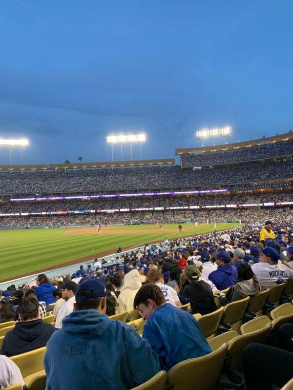 Dodger Stadium, secção: 47fd, fila: S, lugar: 21