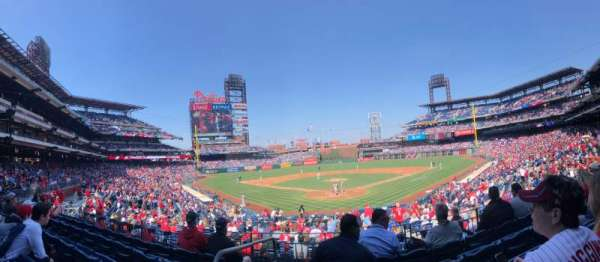Citizens Bank Park, secção: 123, fila: 25, lugar: 11,12