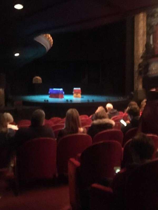 Royal Lyceum Theatre, secção: Stalls, fila: K, lugar: 29