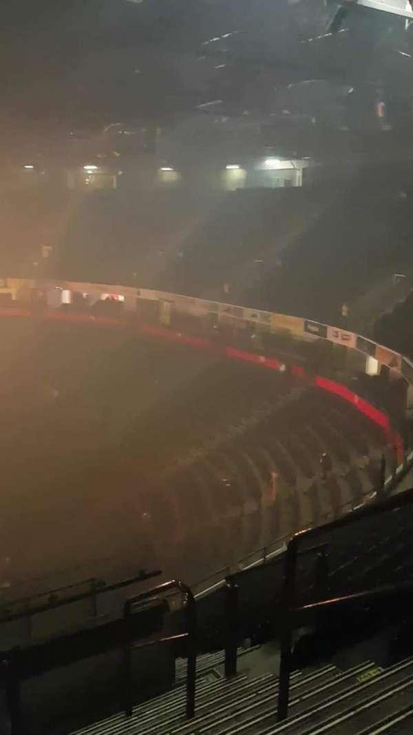 Manchester Arena, secção: 204, fila: L, lugar: 27
