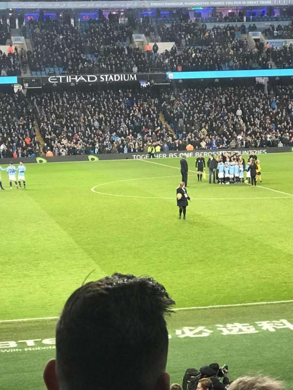 Etihad Stadium (Manchester), secção: 127, fila: V, lugar: 756