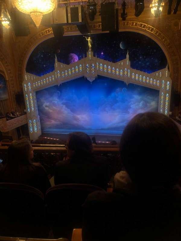 Eugene O'Neill Theatre, secção: MEZZR, fila: G, lugar: 114