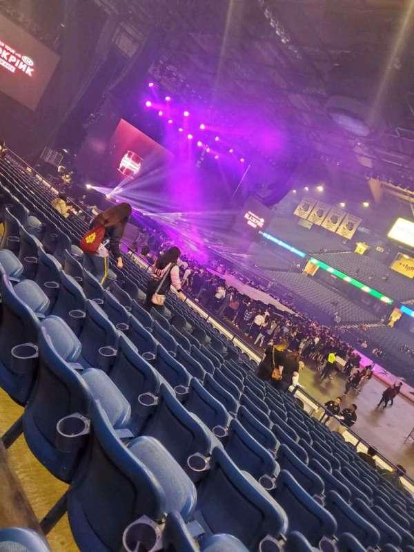 Allstate Arena, secção: 101, fila: n, lugar: 17