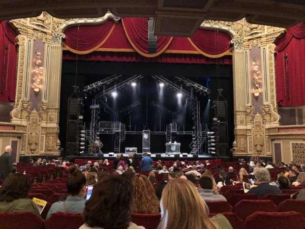 James M. Nederlander Theatre, secção: Orchestra C, fila: X, lugar: 106