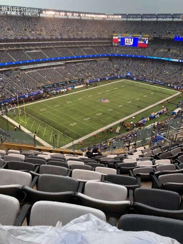 Metlife Stadium , secção: 345, fila: 14, lugar: 16