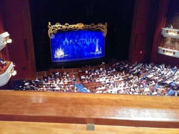 Au-Rene Theatre at the Broward Center, secção: Mezzanine Left, fila: A, lugar: 129