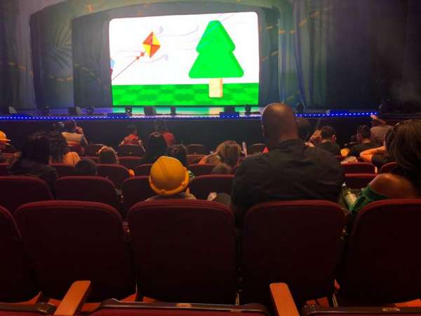 San Jose Center For The Performing Arts, secção: ORCH, fila: 6, lugar: 23