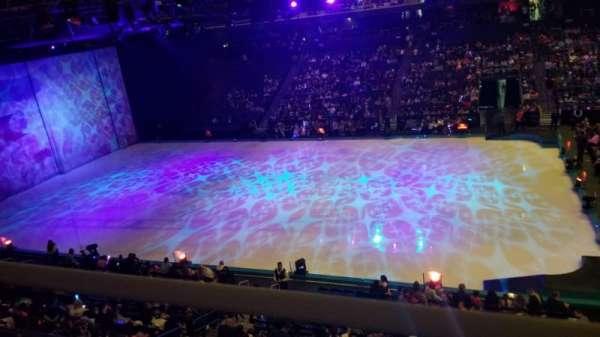 Toyota Arena, secção: 215, fila: A, lugar: 9