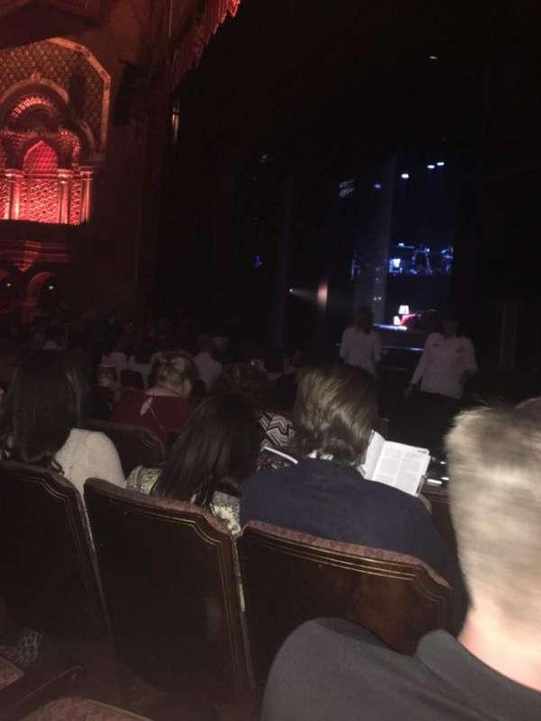 Fox Theatre (Atlanta), secção: Orchestra Right, fila: E, lugar: 12