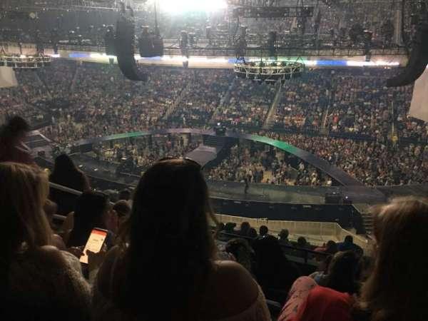 Greensboro Coliseum, secção: 233, fila: K, lugar: 10