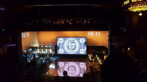 Belasco Theatre, secção: Mezzanine C, fila: F, lugar: 112