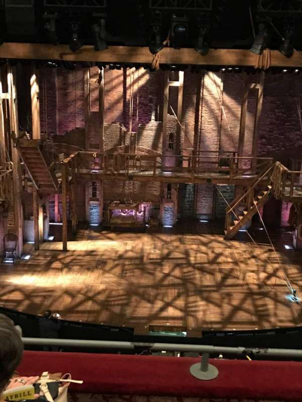 Richard Rodgers Theatre, secção: Front Mezzanine C, fila: C, lugar: 107