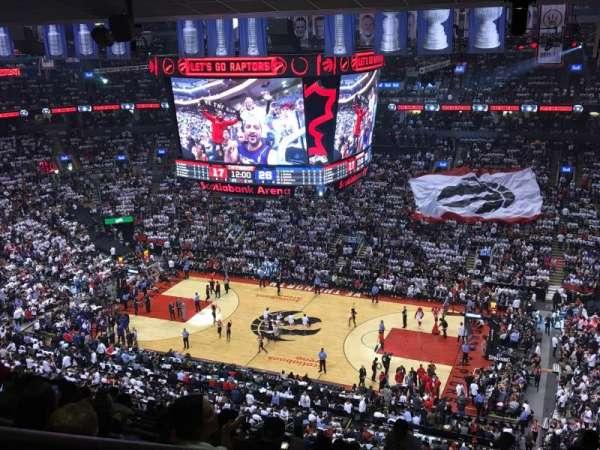 Scotiabank Arena, secção: 319, fila: 14, lugar: 34