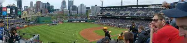 PNC Park, secção: 227, fila: F, lugar: 13