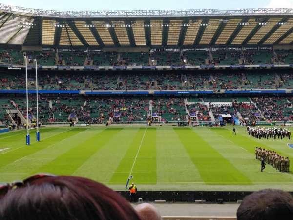 Twickenham Stadium, secção: L27, fila: 33, lugar: 262
