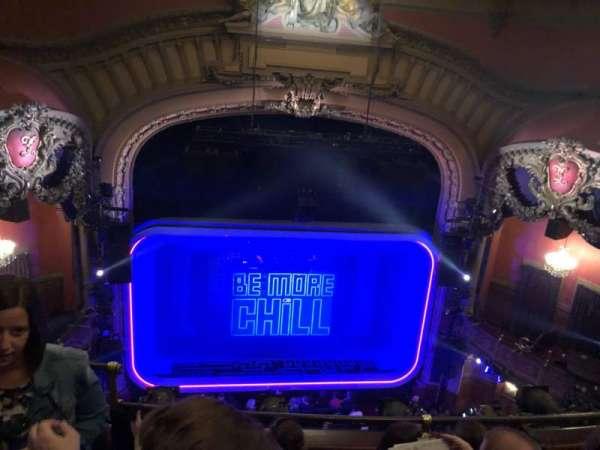 Lyceum Theatre (Broadway), secção: Balcony Center, fila: D, lugar: 111