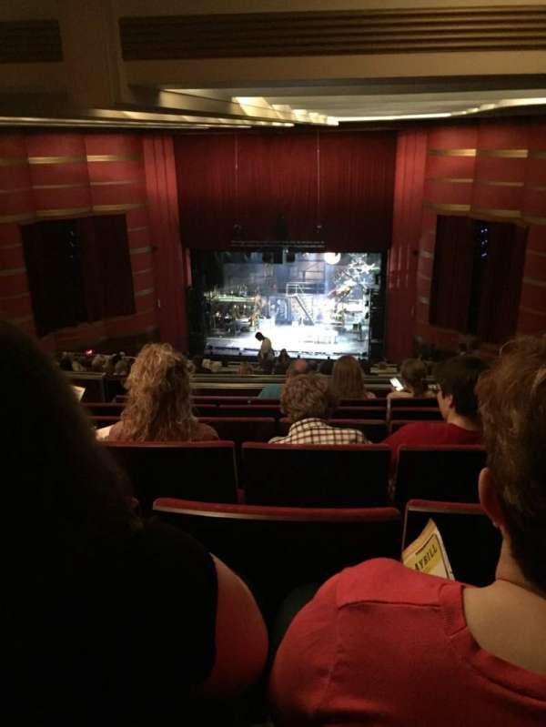 Kansas City Music Hall, secção: RCBAL, fila: W, lugar: 5