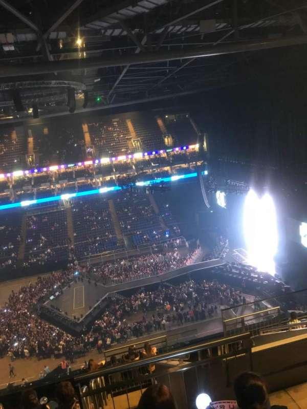 The O2 Arena, secção: 420, fila: H, lugar: 730