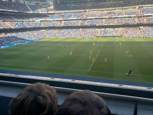 Santiago Bernabéu Stadium, secção: 302, fila: 1, lugar: 26