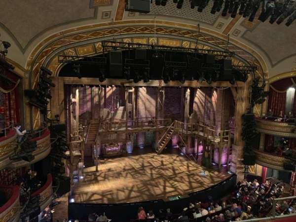 Richard Rodgers Theatre, secção: Front Mezzanine L, fila: D, lugar: 11
