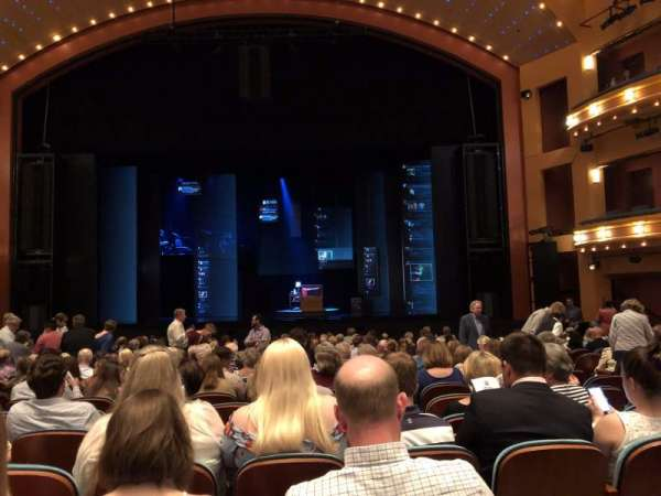 Procter And Gamble Hall at the Aronoff Center, secção: Orchestra, fila: N, lugar: 214