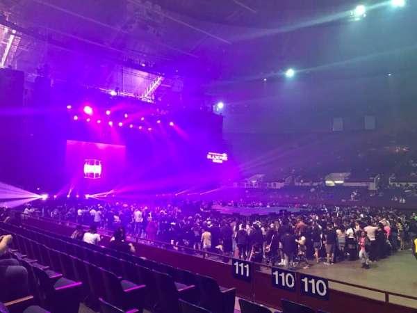 Fort Worth Convention Center, secção: 110, fila: F, lugar: 6