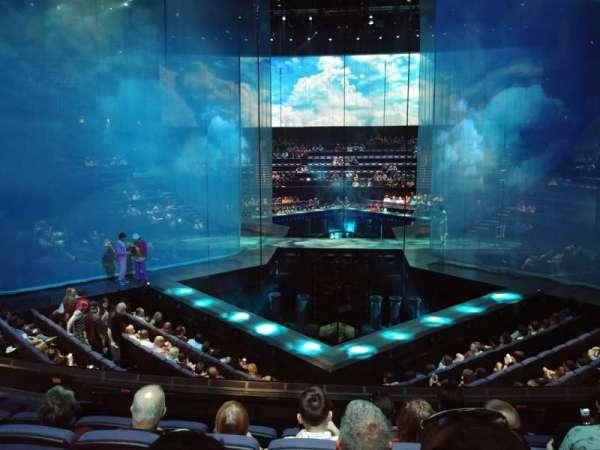 Love Theatre - The Mirage, secção: 209, fila: S, lugar: 34