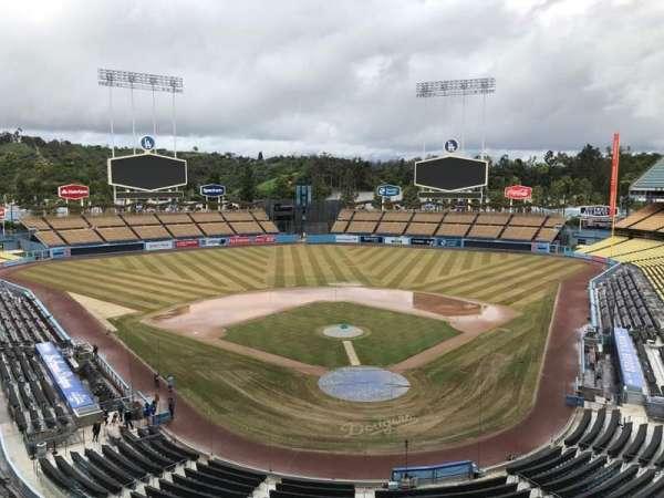 Dodger Stadium, secção: 3RS, fila: C, lugar: 8
