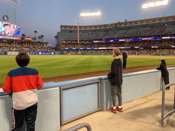 Dodger Stadium, secção: 45FD, fila: BB, lugar: 13