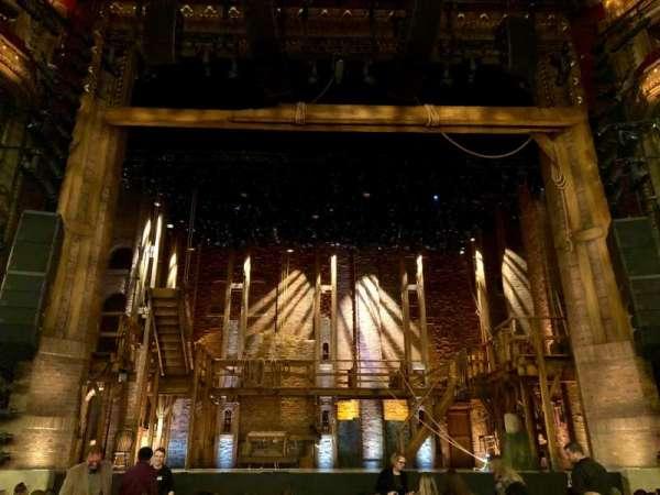 CIBC Theatre, secção: Orchestra C, fila: M, lugar: 105
