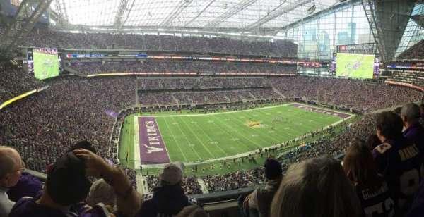 U.S. Bank Stadium, secção: 316, fila: C, lugar: 15