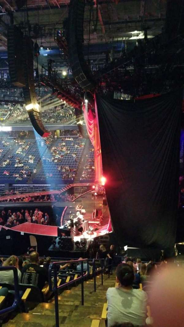Rupp arena, secção: 11, fila: S, lugar: 17