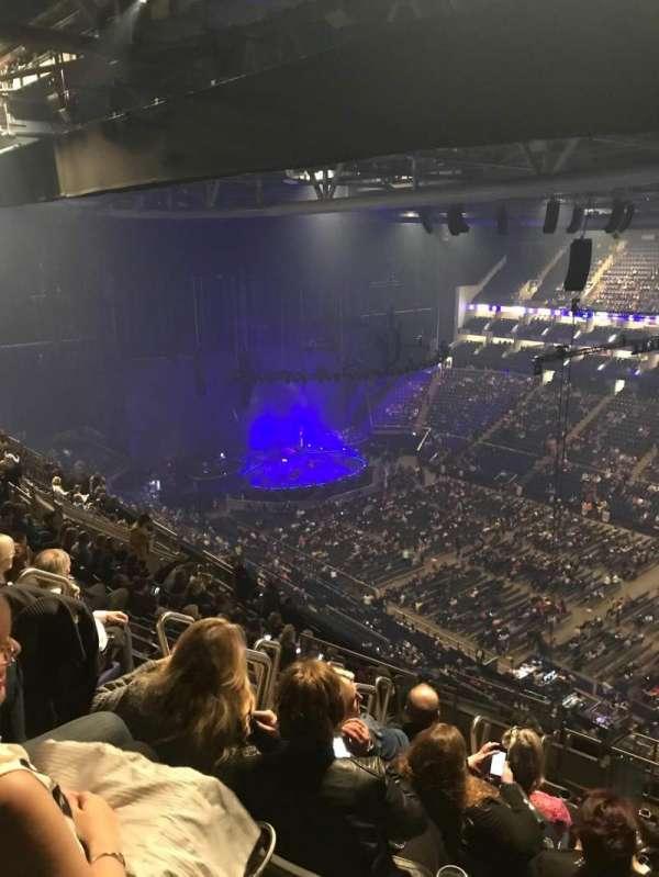 The O2 Arena, secção: 406, fila: Q, lugar: 592