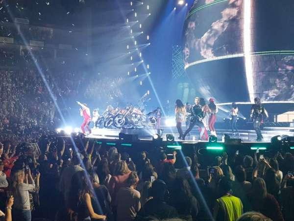 The O2 Arena, secção: 112, fila: C, lugar: 376