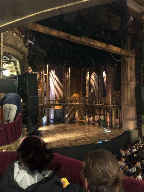 CIBC Theatre, secção: Dress Circle Box 1, fila: Box 1, lugar: 213