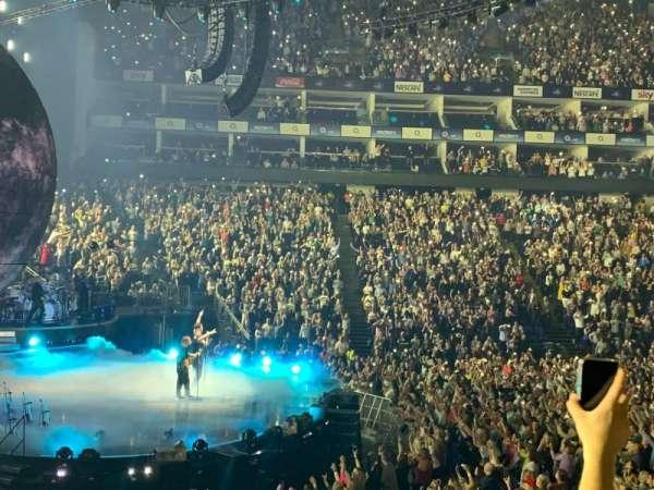The O2 Arena, secção: 101, fila: N, lugar: 20