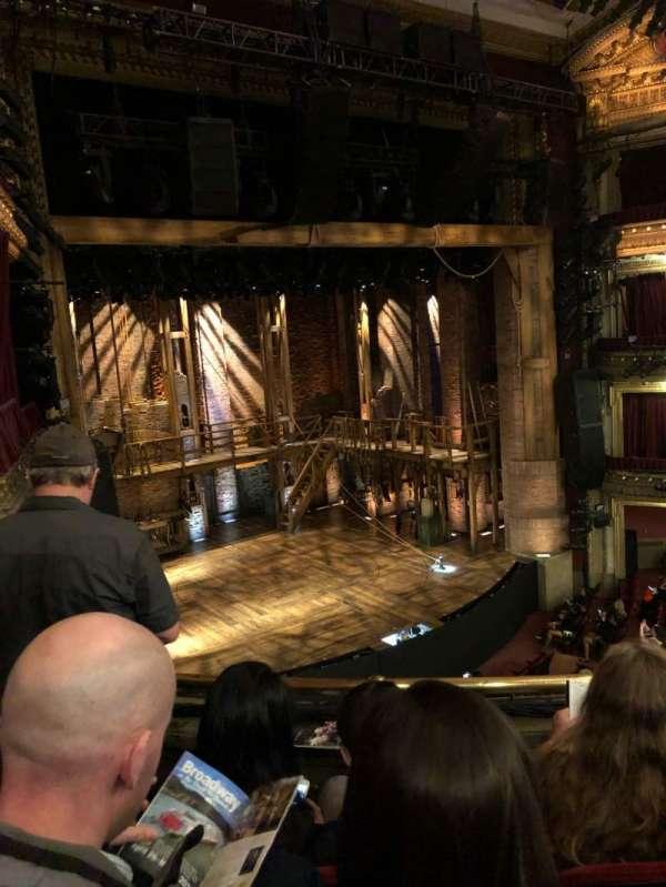 CIBC Theatre, secção: Mezzanine L, fila: C, lugar: 11