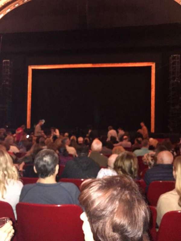 Cadillac Palace Theater, secção: Orchestra C, fila: O, lugar: 116