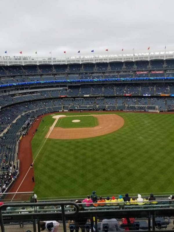Yankee Stadium, secção: 405, fila: 5, lugar: 20