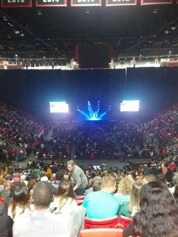Viejas Arena, secção: A, fila: 30, lugar: 10