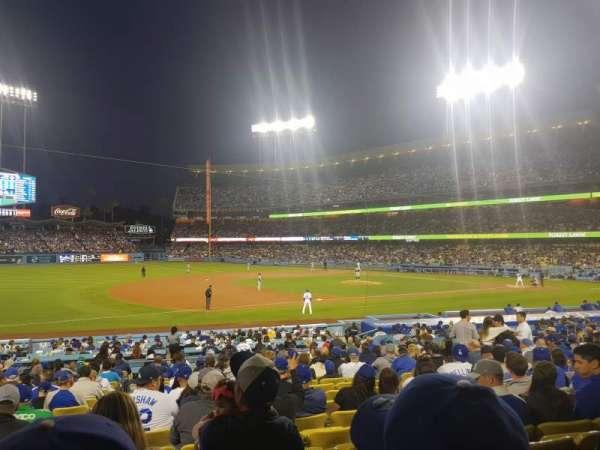 Dodger Stadium, secção: 29FD, fila: T, lugar: 5