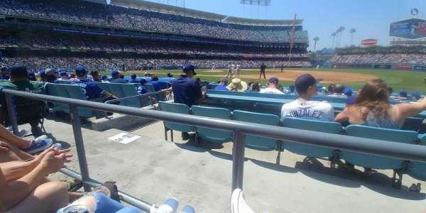 Dodger Stadium, secção: 26FD, fila: A, lugar: 7,8