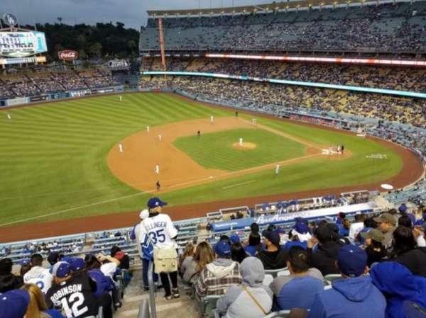 Dodger Stadium, secção: 23RS, fila: K, lugar: 13