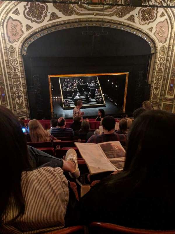 Cadillac Palace Theater, secção: Balcony LC, fila: K, lugar: 303