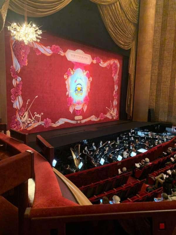 Metropolitan Opera House - Lincoln Center, secção: Parterre, fila: 5, lugar: 3