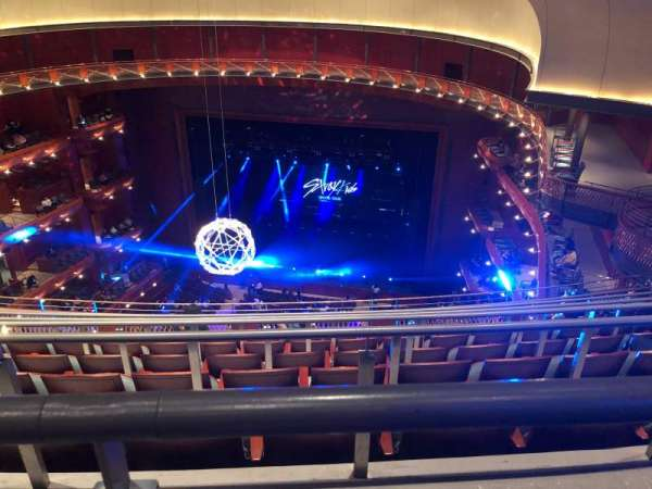 Prudential Hall at the New Jersey Performing Arts Center, secção: Tier 4, fila: G, lugar: 142