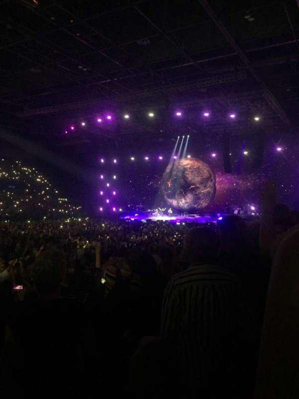 Arena Birmingham, secção: 3, fila: L