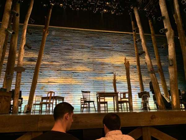 Gerald Schoenfeld Theatre, secção: 3, fila: B, lugar: 105