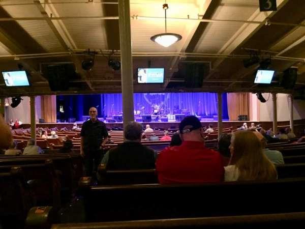 Ryman Auditorium, secção: MF-3, fila: Y, lugar: 15