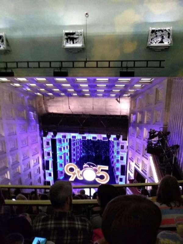 Savoy Theatre, secção: upper circle, fila: h, lugar: 7